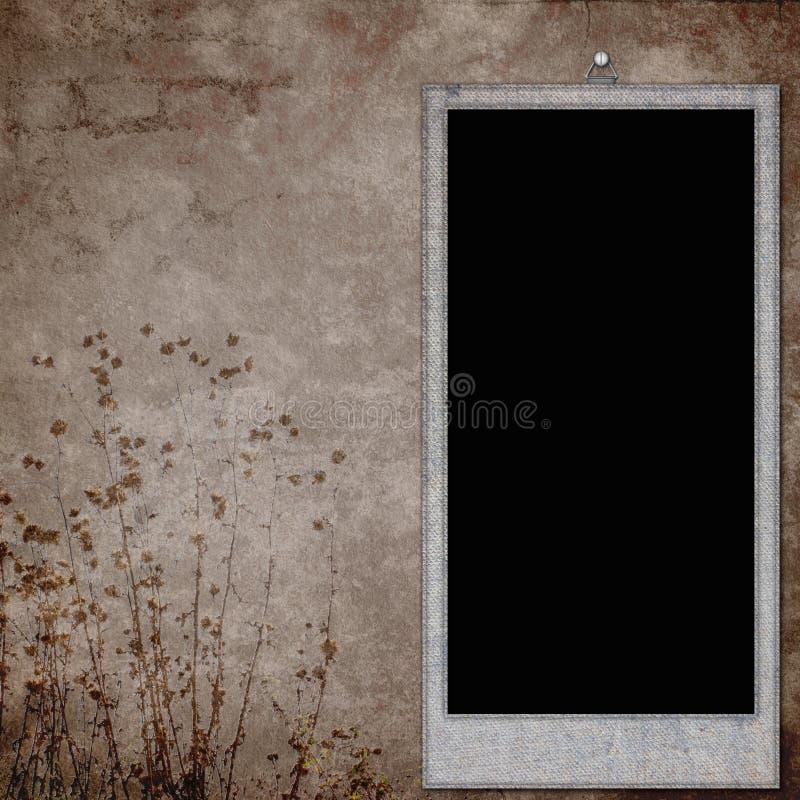 Rahmen für Foto oder Einladungen lizenzfreie abbildung