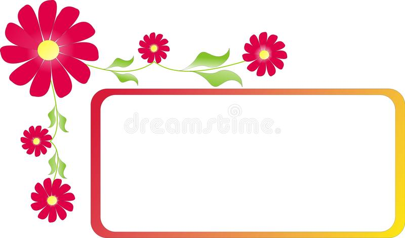Rahmen mit Farben lizenzfreie stockfotos