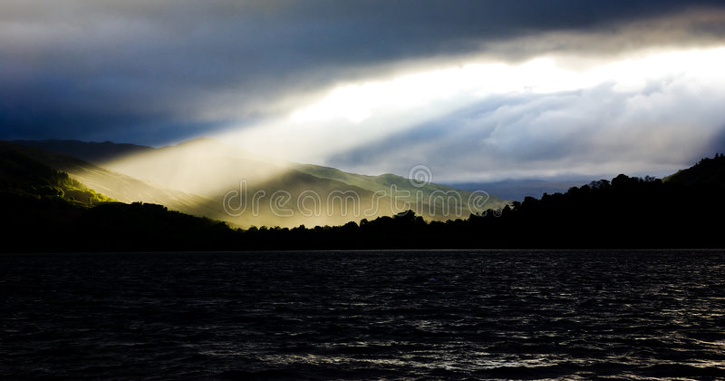 Raia de Sun fotografia de stock