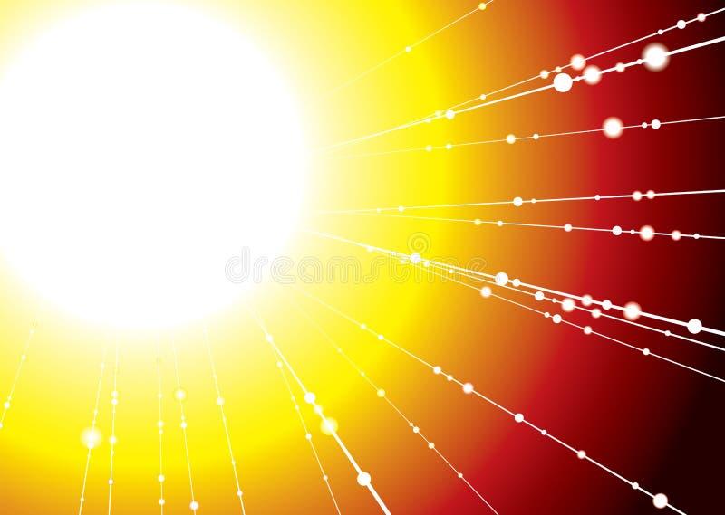 Raia de Sun ilustração royalty free