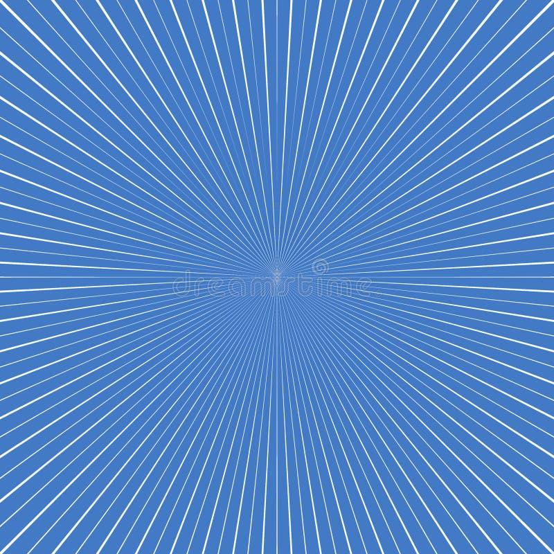 Raias abstratas ilustração do vetor