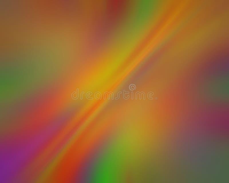 Raias diagonais borradas movimento da cor ilustração do vetor