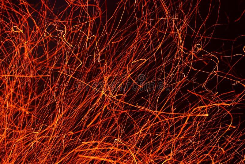 Raias do incêndio imagem de stock