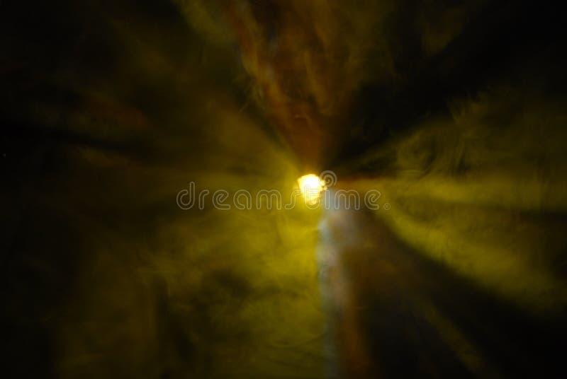 Raias radiais amarelas imagem de stock royalty free