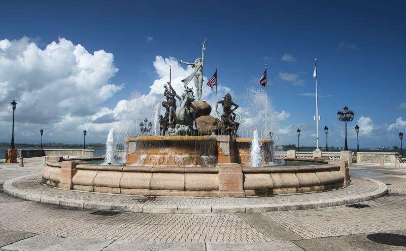 Raices fontanna obrazy stock
