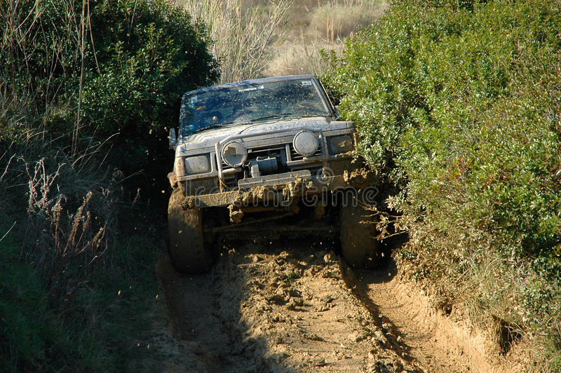 Download Raid 4X4 adventure race editorial stock photo. Image of adult - 4819578