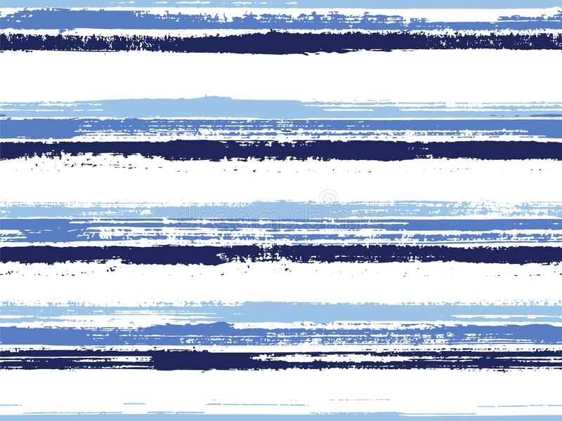 Raies peintes à la main motif vectoriel transparent illustration stock