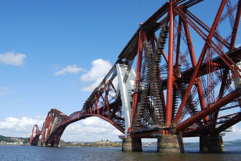 Rail Bridge royalty free stock images