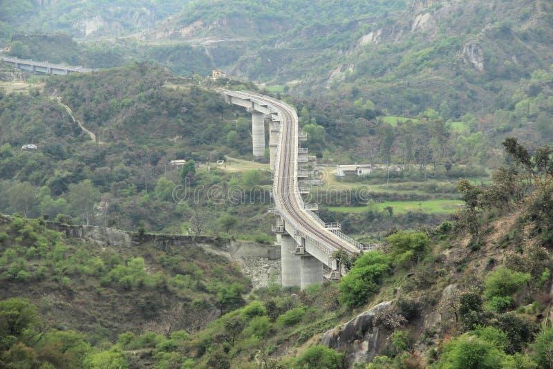Rail Bridge. royalty free stock photography