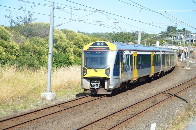 Rail d'Auckland image stock