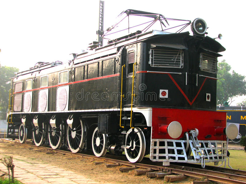 Rail Engine stock image