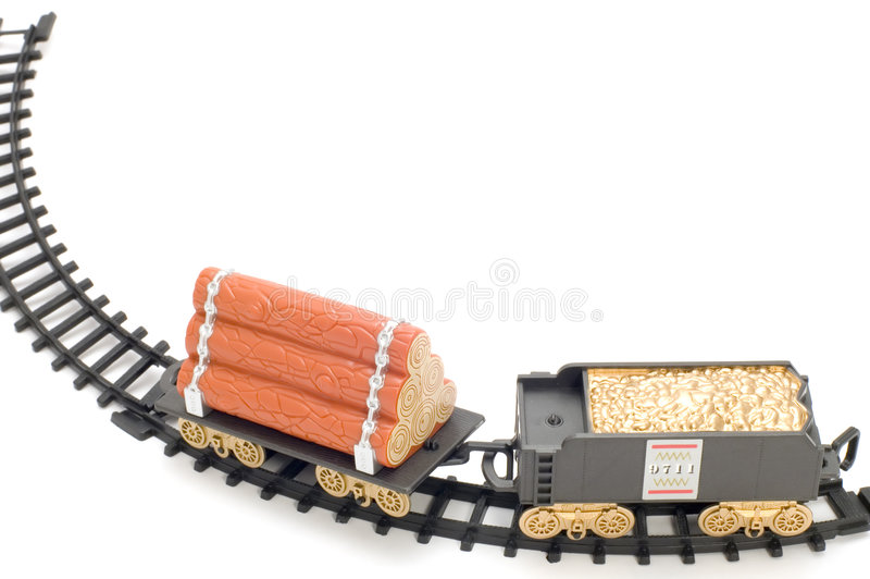 Rail-guided royalty free stock photo