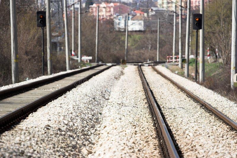 Rail road stock photography