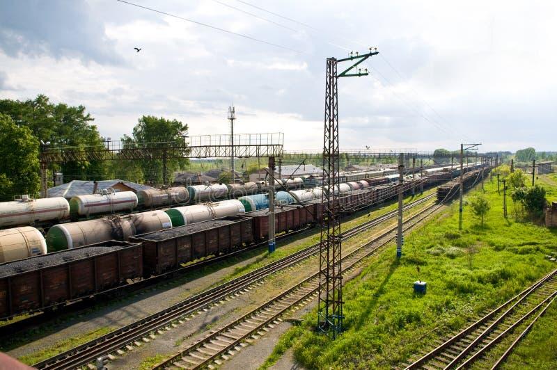 Download Rail road station stock image. Image of rail, transportation - 5456481