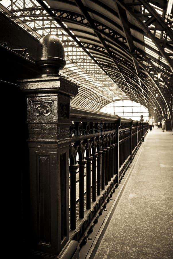 Free Rail Road Station Stock Image - 8131011