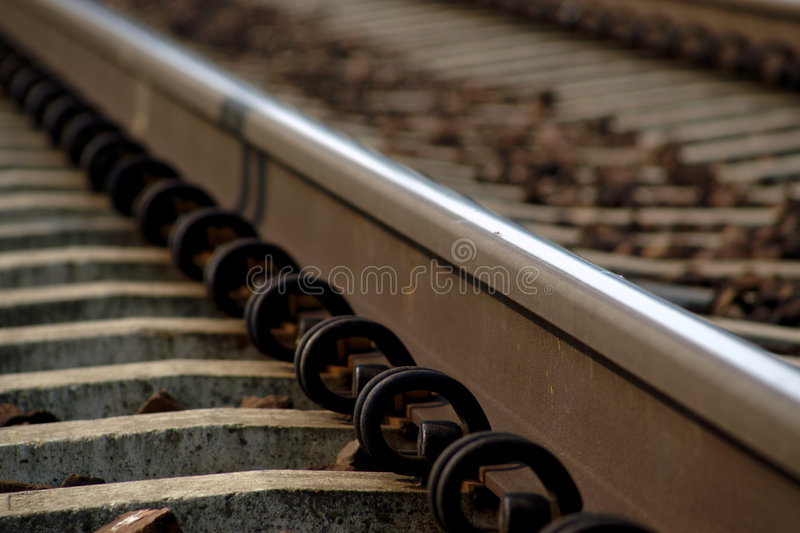 Rail Road Track stock images