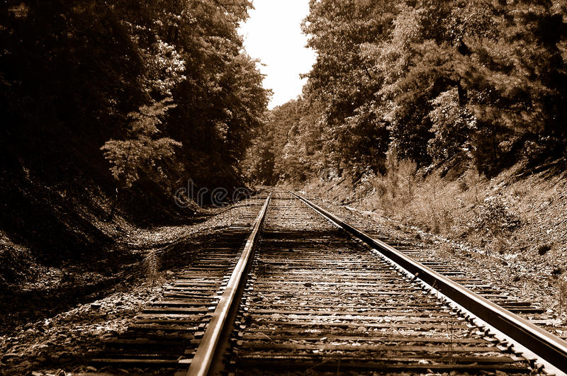 Rail Road Tracks stock photos