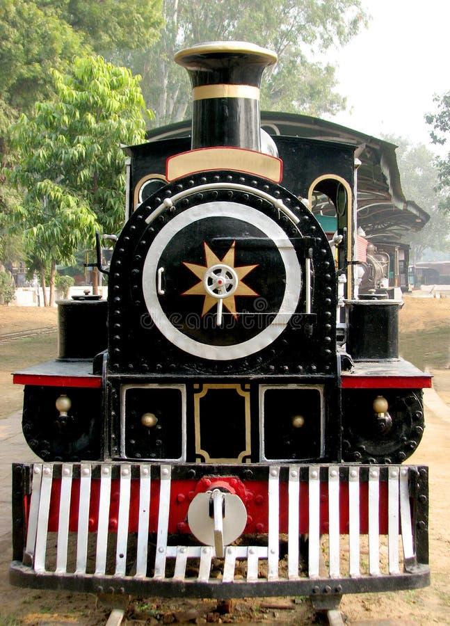Rail Steam Engine royalty free stock photo