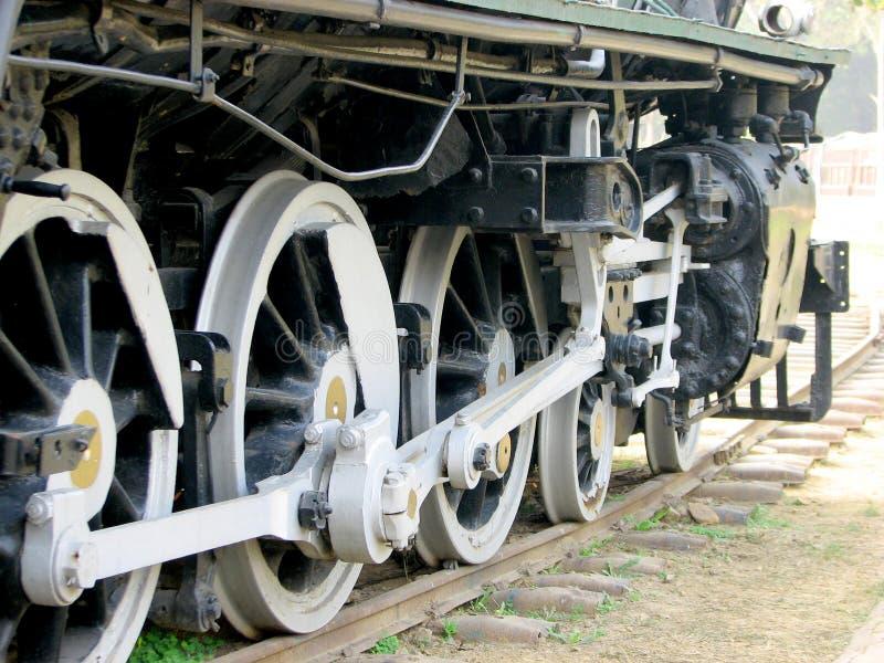 Rail Steam Engine stock photos