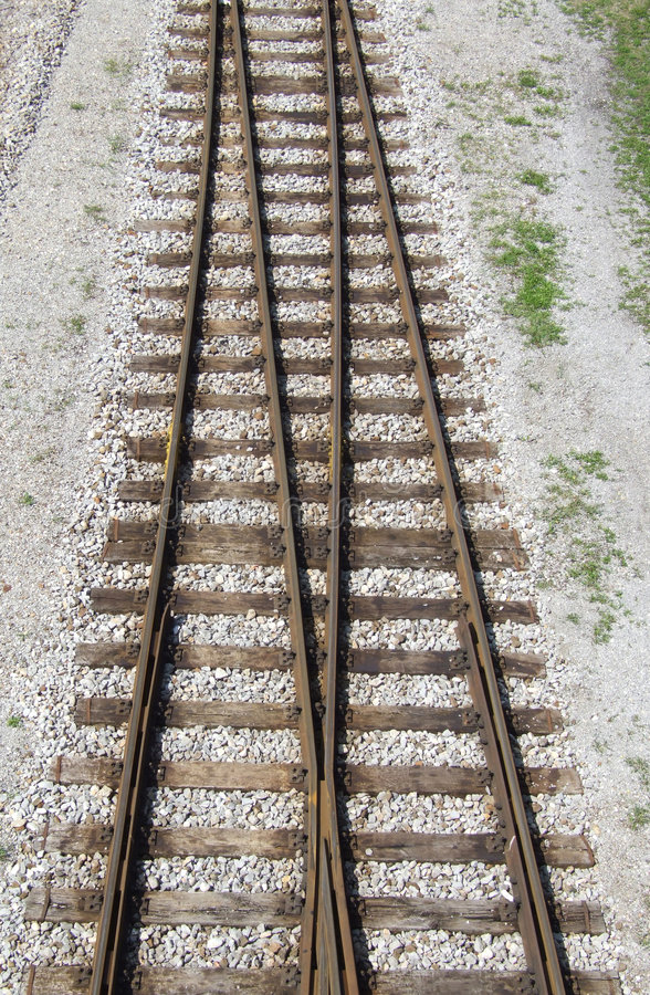 Download Rail Tracks Stock Photography - Image: 1108082