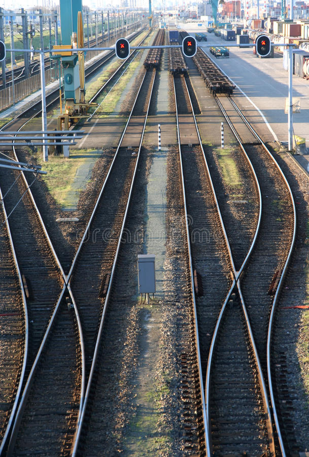 Download Rail Tracks stock photo. Image of over, rail, netherlands - 15607522