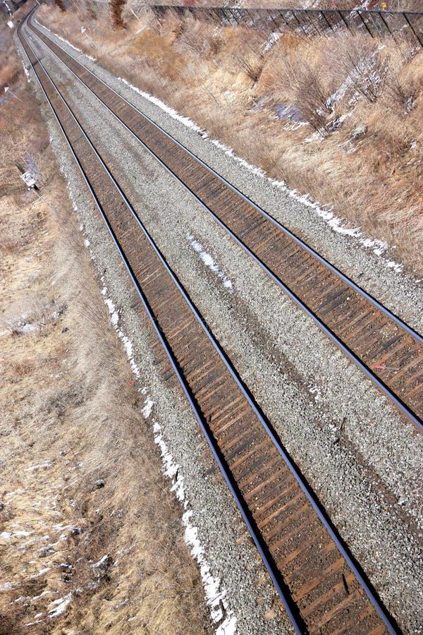 Rail Tracks stock images