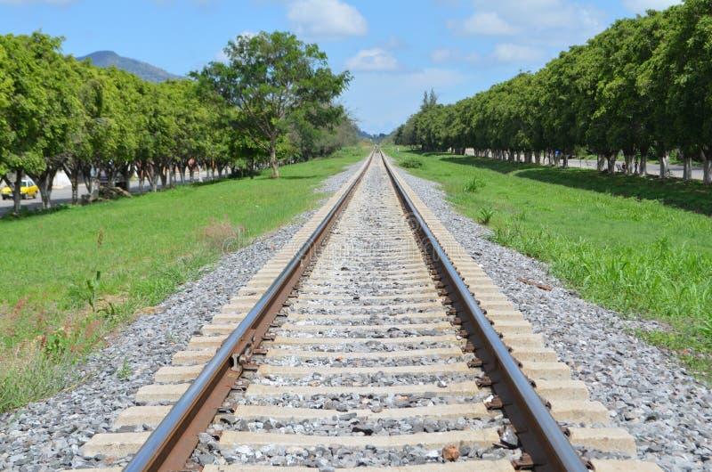 Rail-train image libre de droits