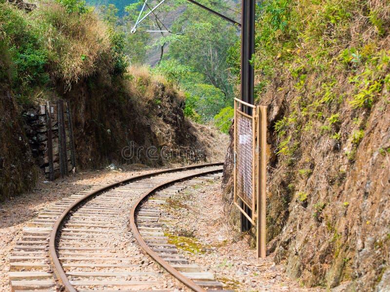 Rail train stock image