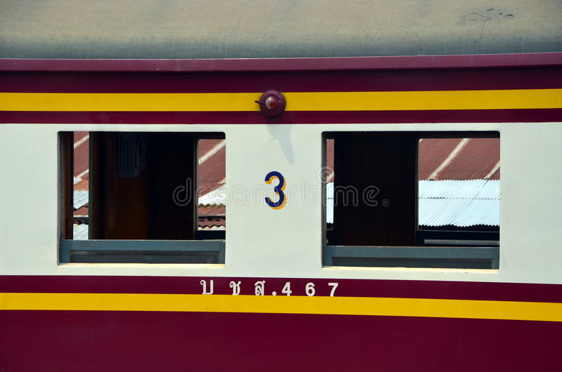 Rail transport in Thailand royalty free stock photo