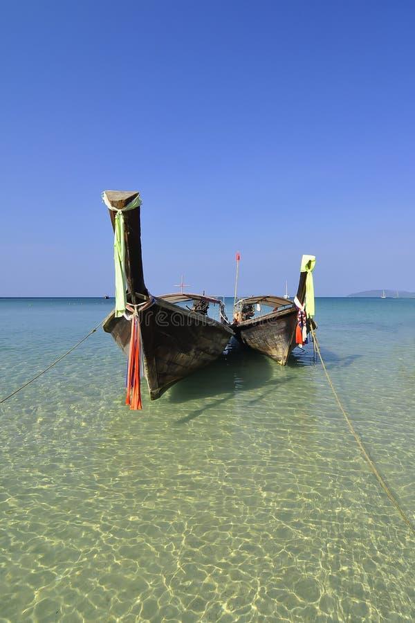 railay海滩的海岛 库存图片