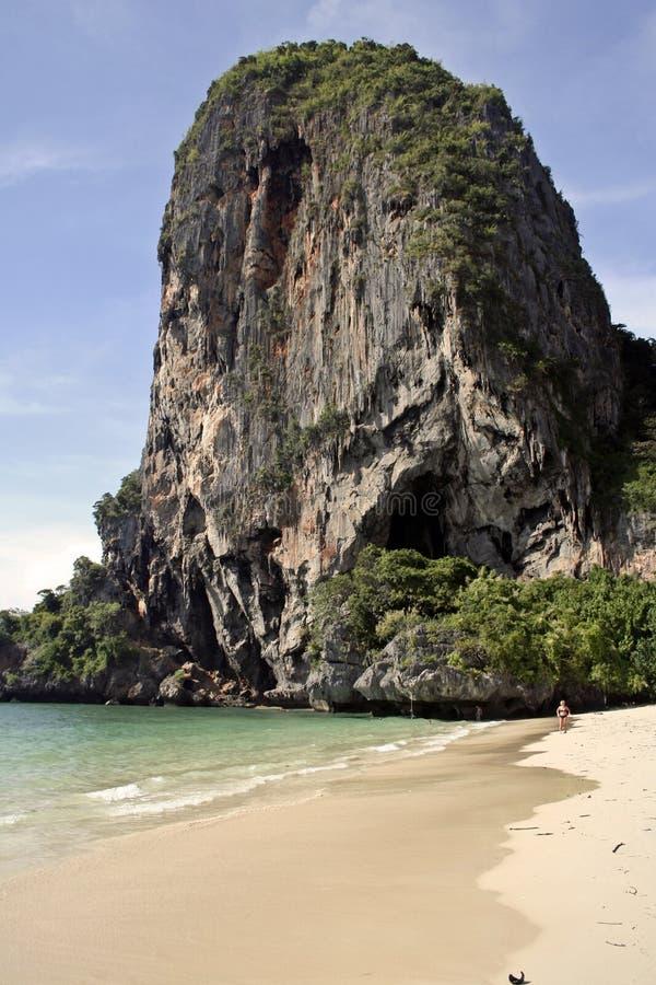railay beach karst krabi thailand