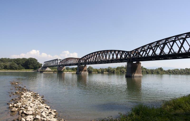 Railbridge photographie stock libre de droits