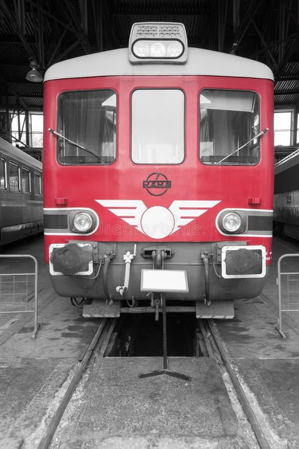 Railbus de diesel de MAV Raba Bamot 701 images libres de droits