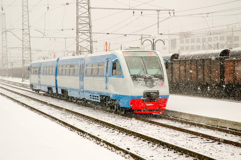 Download Railcar, Motrisa, Auto-motrisa Stock Photo - Image: 16571358