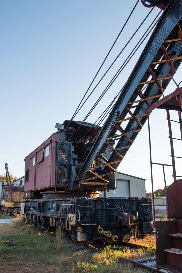 Railcars abandonados imagen de archivo