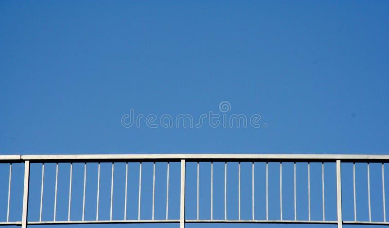 Download Railing stock photo. Image of blue, metal, bright, bridge - 110400