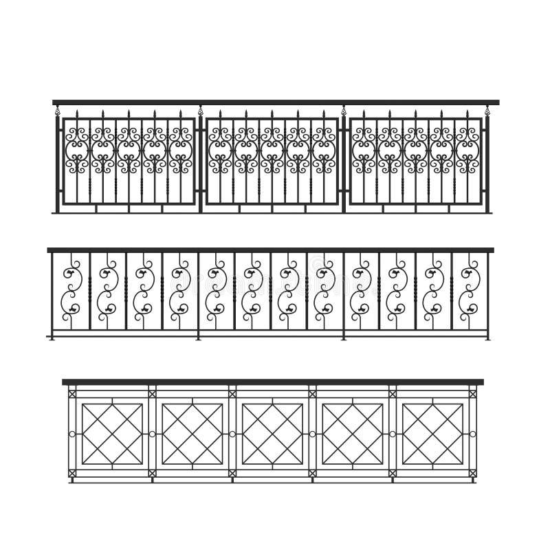 Free Railing Parapet Metal For Exterior Stock Images - 22839904