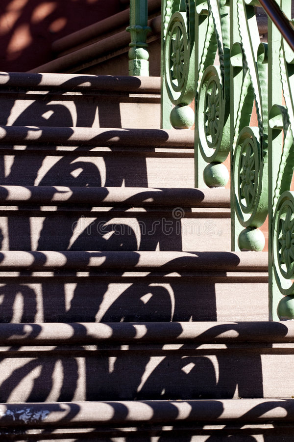 Download Railing and shadow stock photo. Image of stair, architecture - 7622506