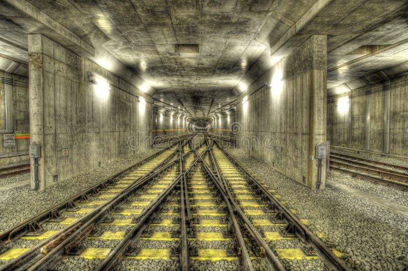 Railline do metro foto de stock royalty free