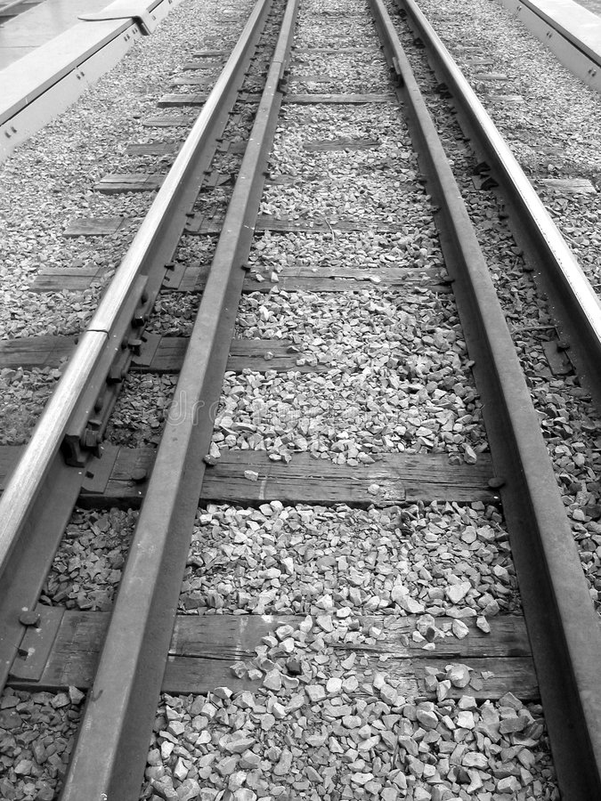 Download Railroad stock photo. Image of parallel, train, industry - 2524