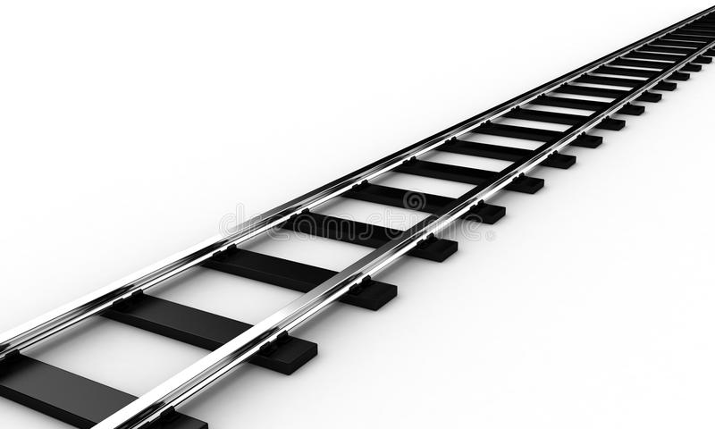 The railroad stock illustration