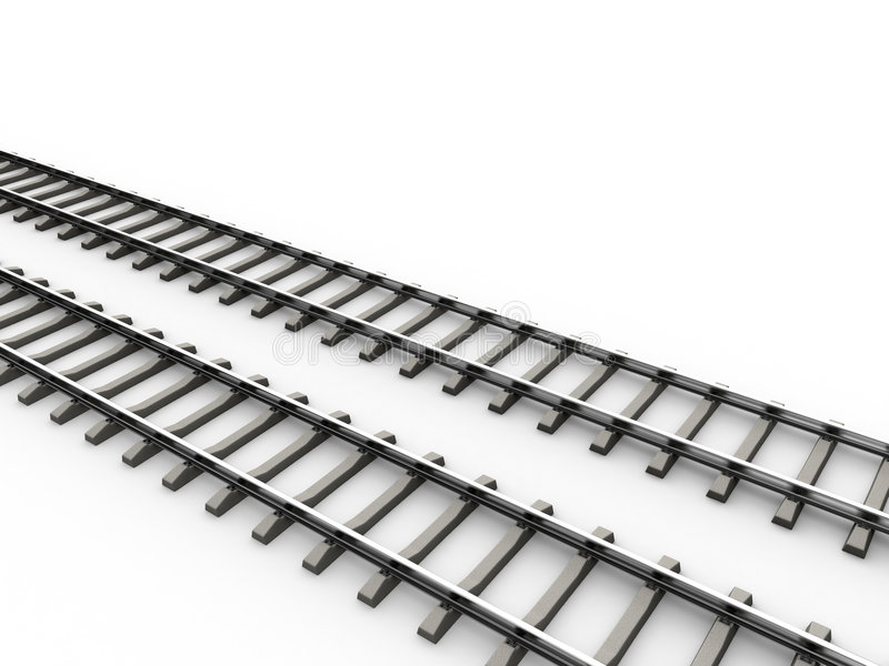 Railroad vector illustration