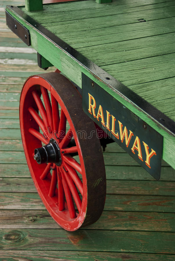 Download Railroad baggage cart stock image. Image of train, tourist - 16825727