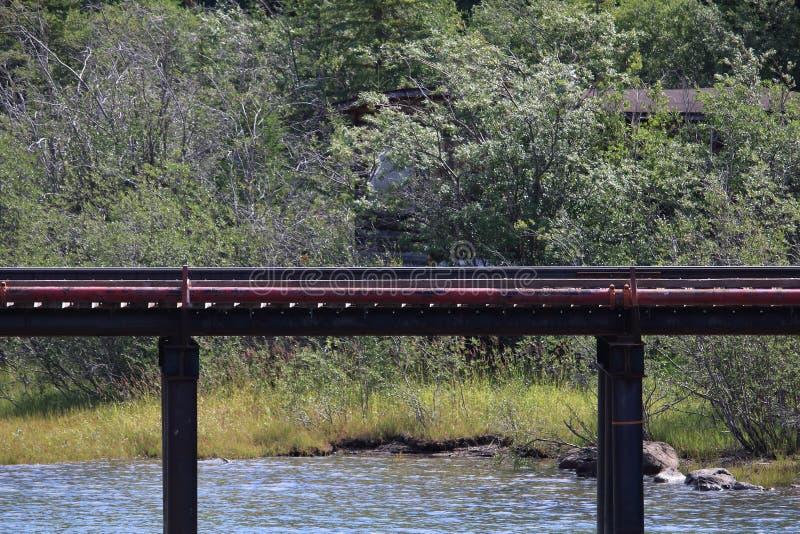 Railroad Bridge stock photo