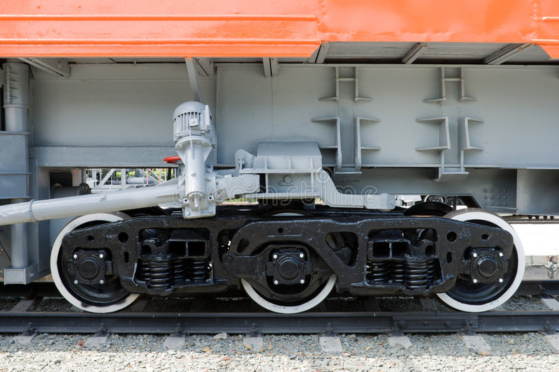 Railroad Chassis Royalty Free Stock Images