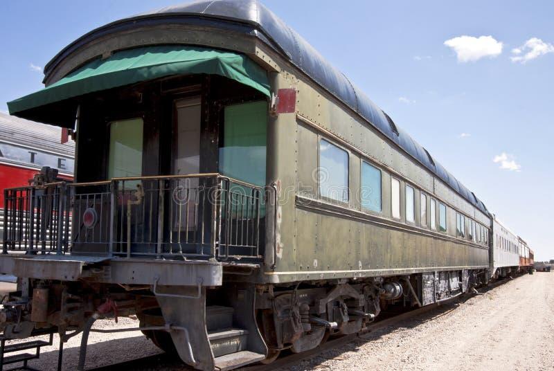 Railroad club car stock images