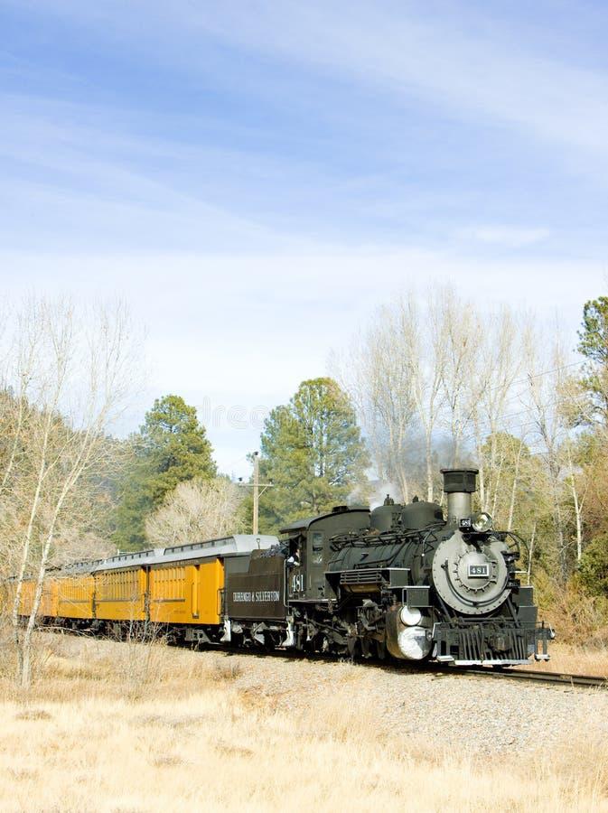 Railroad in Colorado, USA stock image