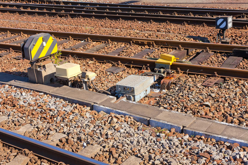 Download Railroad Controlling Devices Stock Photo - Image: 18025160