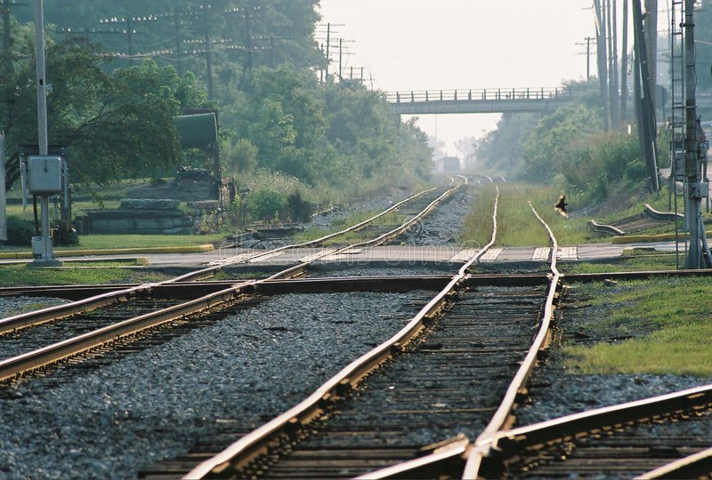 Download Railroad Crossing stock image. Image of industry, crossing - 200981