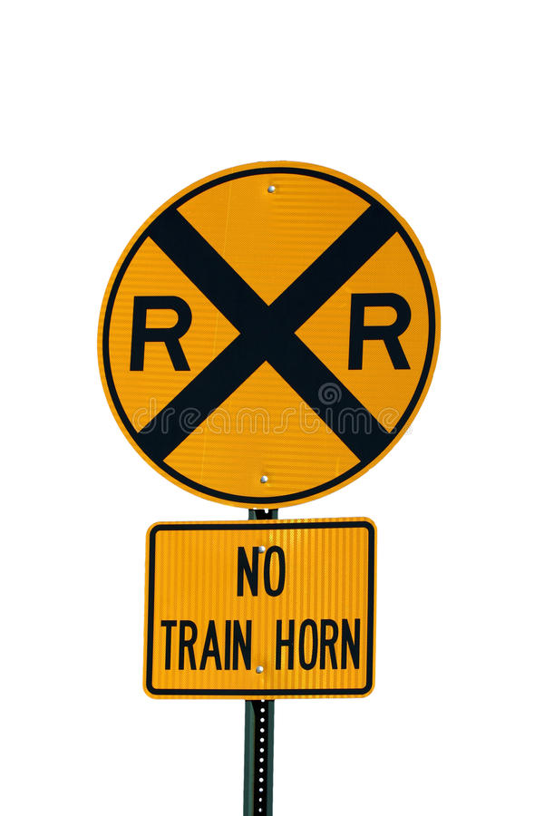 Free Railroad Crossing Sign Stock Images - 13513254